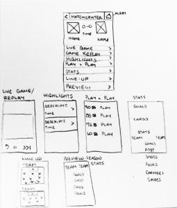deportes app sketch
